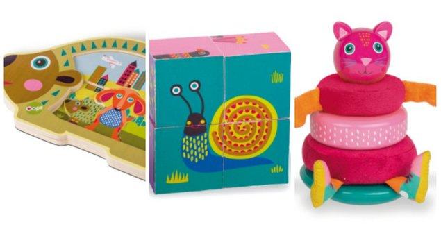 Ξύλινα παιχνίδια για παιδιά βρεφικής και νηπιακής ηλικίας