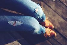 Γυναικείο τζιν παντελόνι