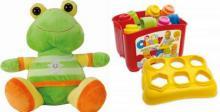 Μαλακά παιχνίδια για παιδιά βρεφικής ηλικίας ( 0-3)